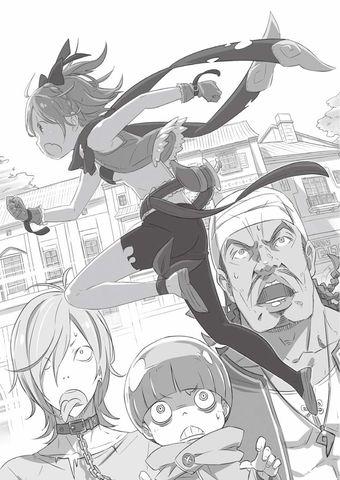 Re Zero Light Novel Volume 1 Felt Artwork