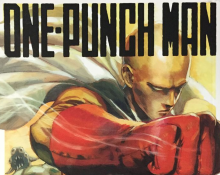 One Punch Man Cover Crop
