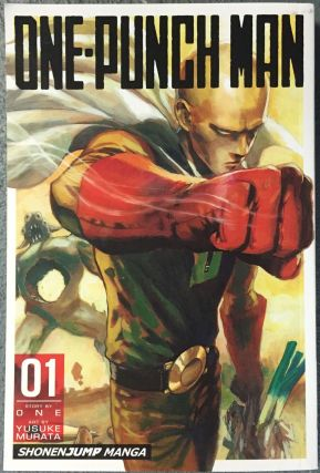 One Punch Man Manga Cover English